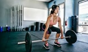 CrossFit Lady Lifter
