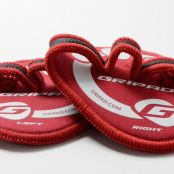Gripad Red Workout Gloves