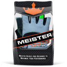 Meister Weight Lifting Gloves Wrist Wrap Packaged