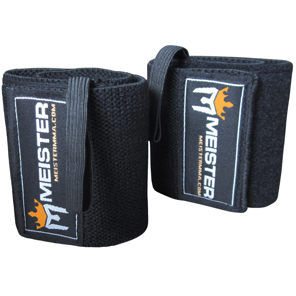 Meister Wrist Wraps Black Pair