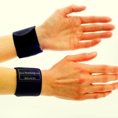NewGrip Wrist Support Wraps Pair
