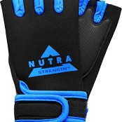 Nutra Strength Workout Gloves Blue