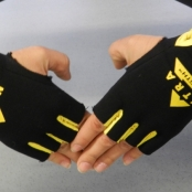 Nutra Strength Workout Gloves Yellow
