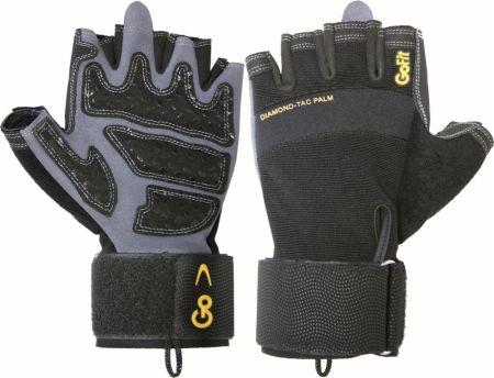 Diamond Tac Wrist Wrap Weight Lifting Gloves