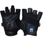 meister mma womens weight lifting gloves black