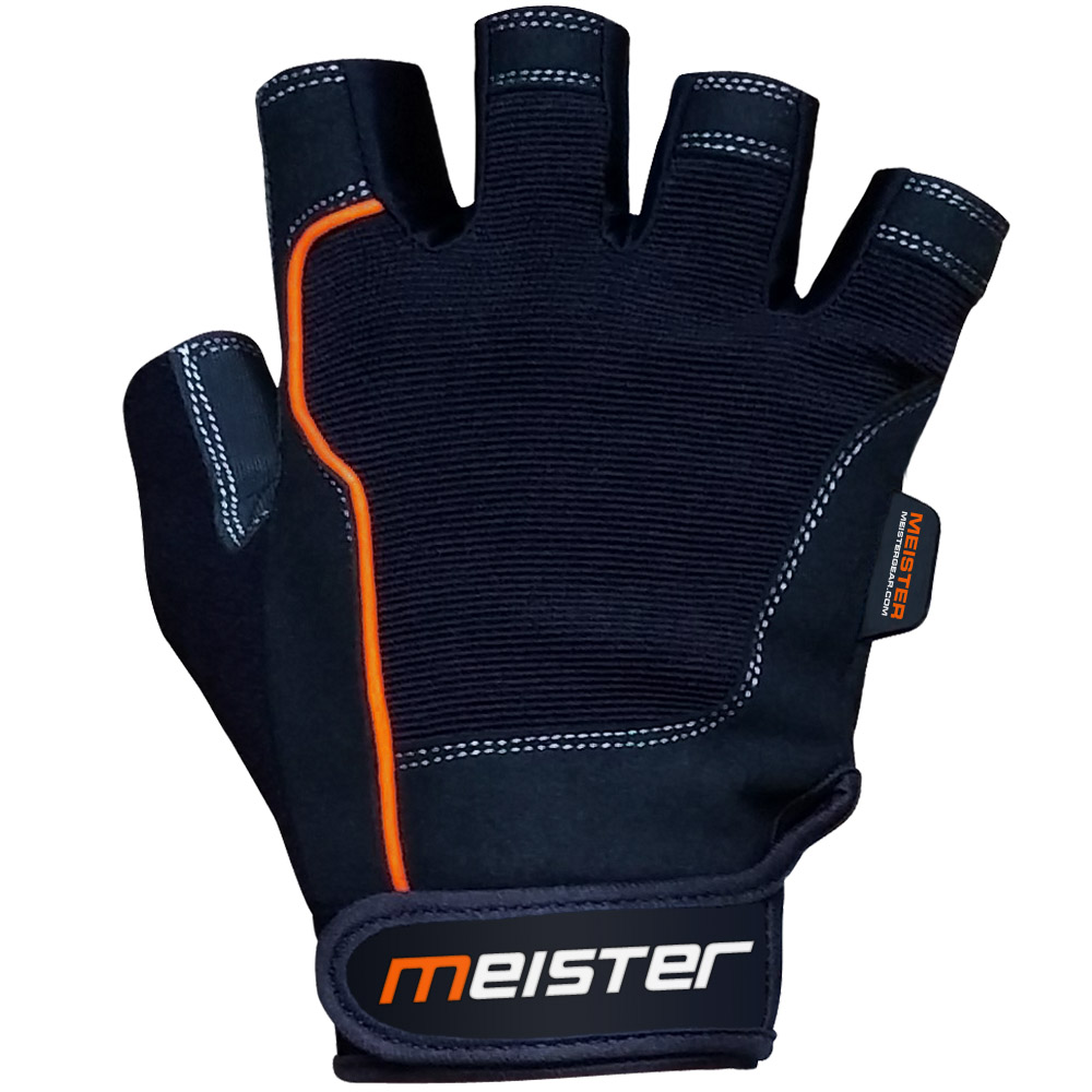 Meister Grip Fit Workout Gloves Weight Lifting Gloves