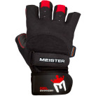 Meister Weight Lifting Gloves and Wrist Support Top Right
