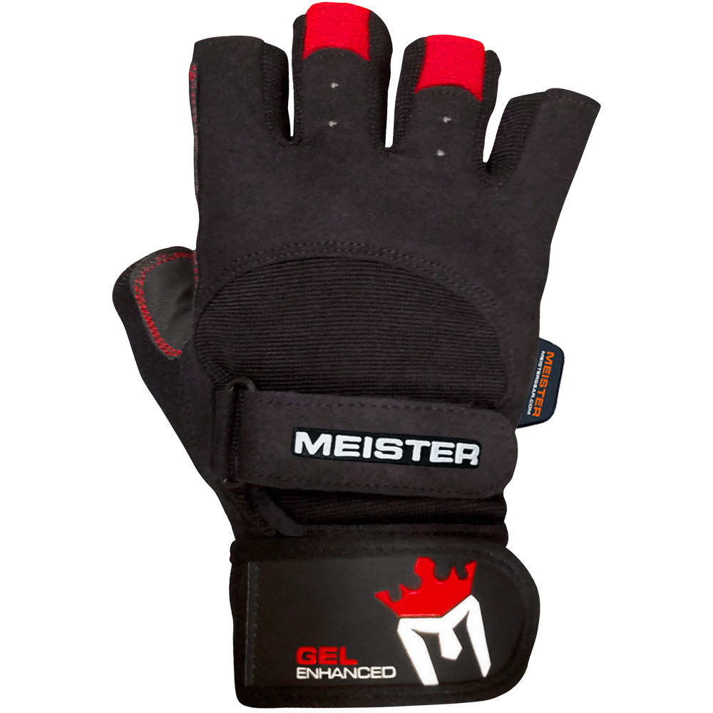 Workout Gloves For Weak Wrists: Meister Weight Lifting Gloves With Wrist Support