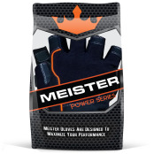 Packaged Pair Meister MMA Weight Lifting Gloves for CrossFit, front view