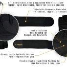 Bnooch Weight Lifting Gloves Diagram