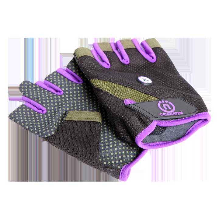 Vegan Fitness Gloves: Natural Fitness Wrist Assist Workout Gloves