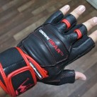 Crown Gear Dominiator Weight Lifting Gloves top of hand