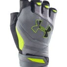 Under Armour Resistor Half Finger Training Gloves Yellow