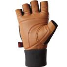 Valeo Ocelot Wrist Wrap Lifting Gloves Tan Palm