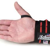Schiek Wrist Wraps black