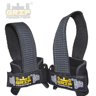 Grip Power Pads Lifting Straps Pair