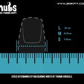 Nubs sizing chart
