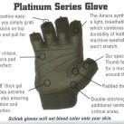 Schiek 540 Platinum Lifting Gloves Features