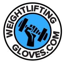 weight lifting gloves logo