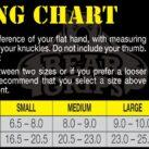 Bear Grips Sizing Chart