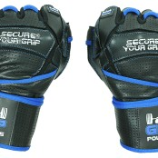 Grip Power Pads Elite Gym Gloves with Wrist Support fists