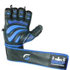 Grip Power Pads Elite Gym Gloves with Wrist Support left hand
