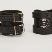 Risto Black Leather Wraps