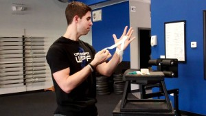 Taping Hands for CrossFit workouts
