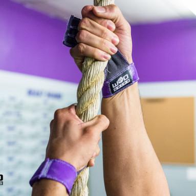 WOD Grips Rope Climbing