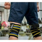 Mava Knee Wraps Blue and Yellow