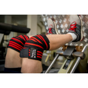 Mava Weight Lifting Knee Wrap Leg Press