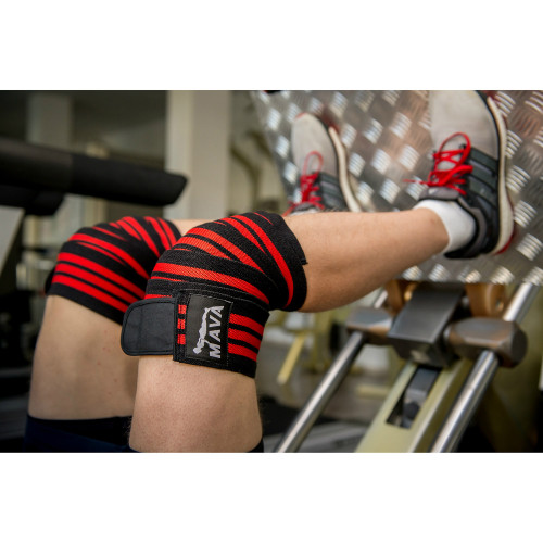 36c3901fb9 Mava Weight Lifting Knee Wraps - Weight Lifting Gloves