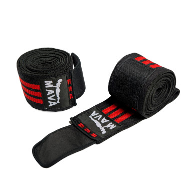 Mava Weight Lifting Knee Wraps