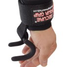 Grip Power Pads Weight Lifting Hooks One Rod