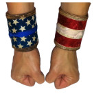 Dermalicious Wrist Wraps Old Glory