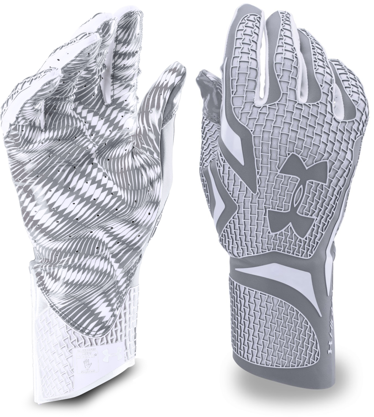 custom under armour football gloves