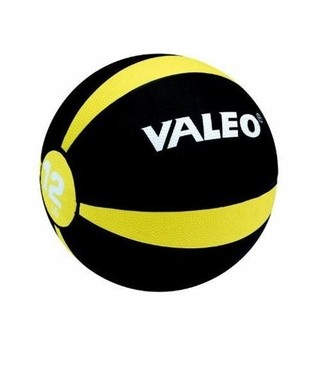 Valeo Medicine Ball Yellow 12 LB