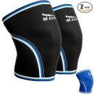Mava Knee Sleeves Pair Black