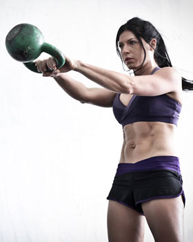 lauren brooks kettlebell